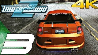 Need For Speed Underground 2 HD - Gameplay Walkthrough Part 3 - Celica GT-S T230 (4K 60FPS)
