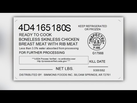 Simmons Prepared Foods, Inc. issues recall for over 2 million pounds of chicken due to possible meta
