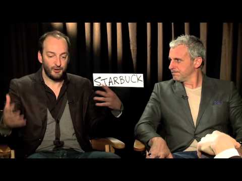 STARBUCK interviews with Patrick Huard, Ken Scott - DELIVERY MAN with Vince Vaughn