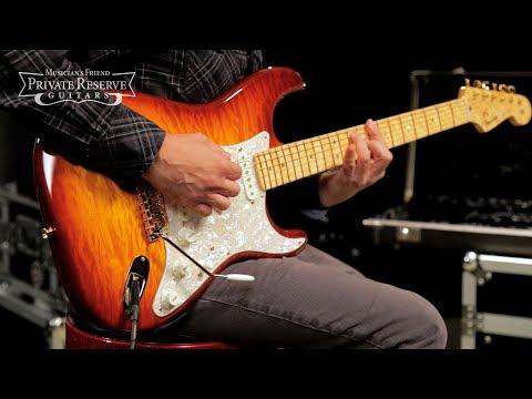 Fender Custom Shop Founders Design Stratocaster, Designed By JW Black Electric Guitar