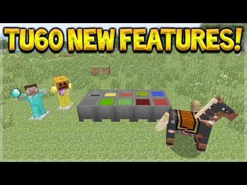 LIVE NOW! - Minecraft Console Edition - NEW Title Update 60 Exploring ALL Features!