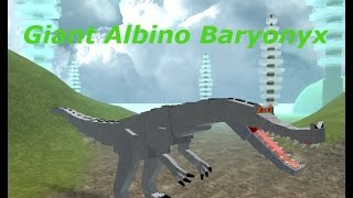Giant Albino Baryonyx, ROBLOX, Review
