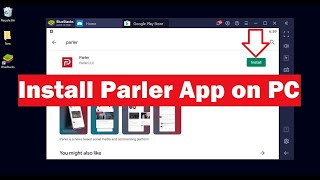 How to download and install the latest version of parler app on your pc windows 7, 8, 8.1, 10, mac devices?#parlerforpc #windows #mac