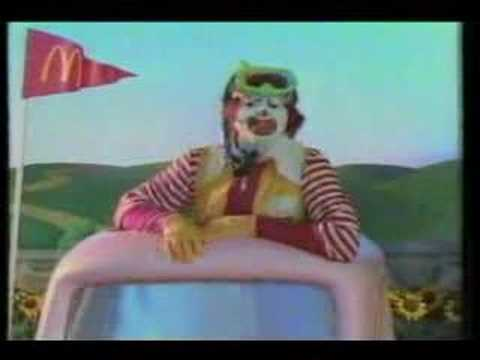 McDonald's Commercial w/ Batman Returns Toys