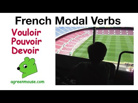 modal verbs in french vouloir pouvoir devoir youtube. Black Bedroom Furniture Sets. Home Design Ideas
