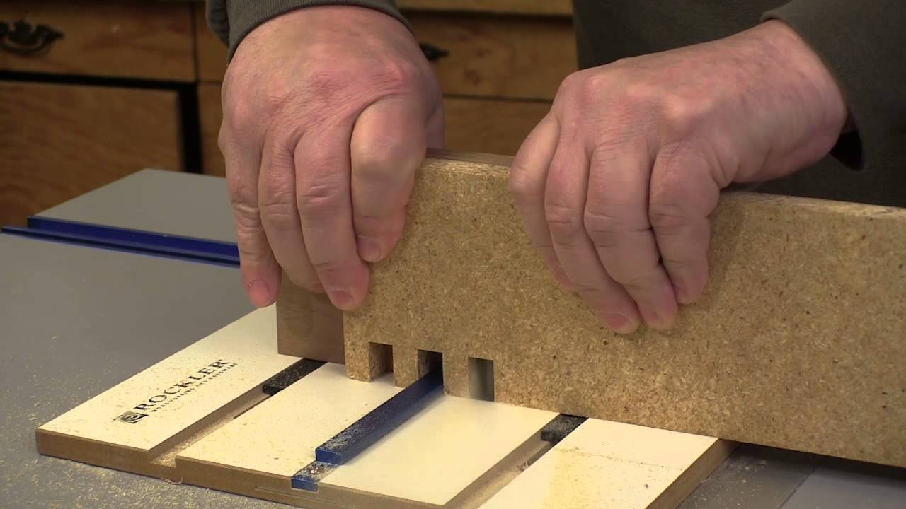 Rockler router table box joint jig youtube greentooth Gallery