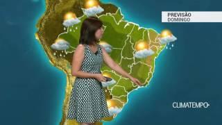 Previsão Brasil – Muita instabilidade no Sudeste