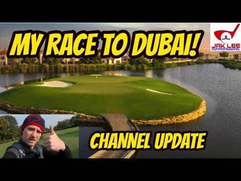 MY RACE TO DUBAI - CHANNEL UPDATE!
