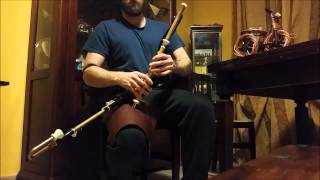 The song of the Chanter on Uilleann Pipes- Luca Sulcanese