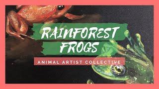 Baixar Gouache Endangered Rainforest Frogs   Animal Artist Collective (Unofficial )