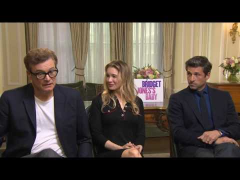 Bridget Jones's Baby: Cast Official Movie Interview
