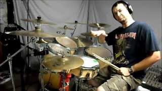 METALLICA Damage Inc Drum Cover