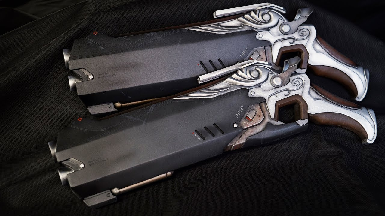 Making Reaper's Hellfire Shotguns - OVERWATCH - YouTube