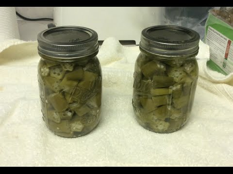 OKRA – CANNING for FRYING LATER  (OAG 2015)