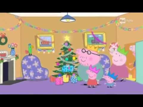 Peppa Pig Il Compleanno Di Natale.Peppa Pig Arriva Babbo Natale Tvbabyworld Youtube