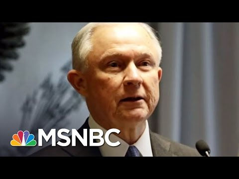 AG Jeff Sessions' Disastrous Drug Crime Policy | AM Joy | MSNBC
