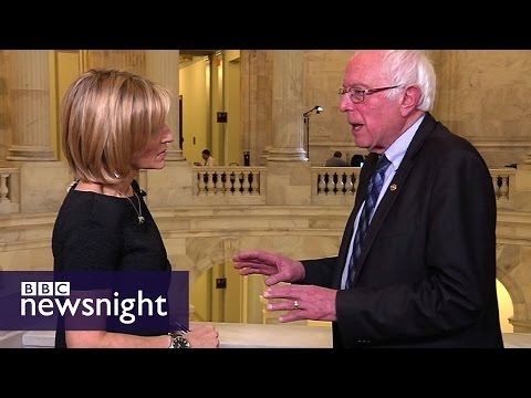 Bernie Sanders: 'If it's America First, then it's UK First, China First...' - BBC Newsnight