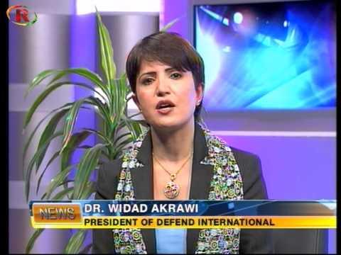 Dr. Widad Akrawi Dedicates Award to Kobane and Shengal
