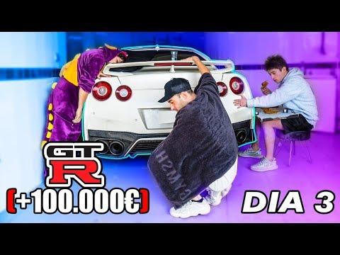 EL ULTIMO EN QUITAR LA MANO SE QUEDA ESTE NISSAN GT-R (+100.000€) [bytarifa]