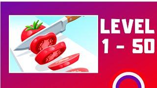 Perfect Slices Game Walkthrough LV1-50