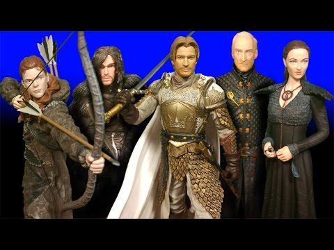 Dark Horse Deluxe Game Of Thrones: Ygritte, Jon Snow, Tywin, Sansa, Jaime Figures Review