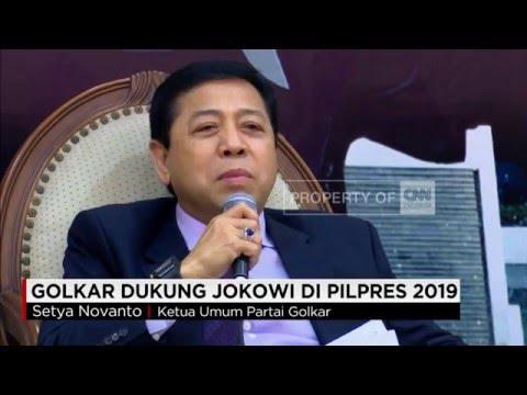 Golkar Dukung Jokowi Di Pilpres 2019