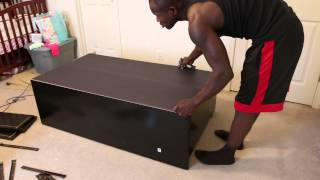How To Assemble Sauder Dresser (414410)