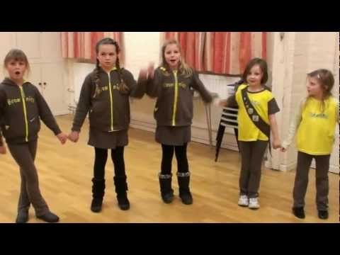 Thinking Day 2013 from Steeple Aston Brownies