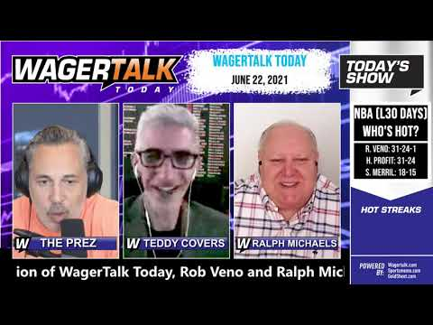 Free Sports Picks and Sports Betting | NBA Picks and EURO Soccer Preview | WagerTalk Today | June 22
