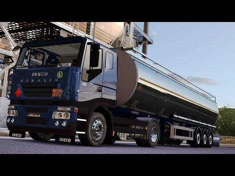 ETS2 1.28 ProMods 2.20 Iveco Stralis  Frankfurt - München