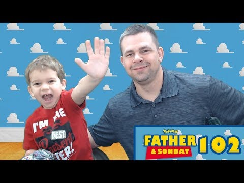 Father and Sonday! | Opening Pokemon Cards with Lukas #102