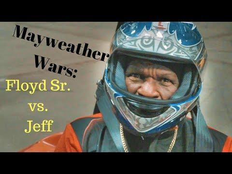 Floyd Sr. vs. Jeff: The Mayweather Wars!  Pole Position Raceway