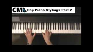 Popular and Rock Music Piano Tips - Part 2