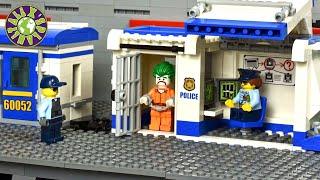 Lego Police Train Prison Break.