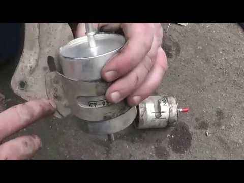 Замена топливного фильтра Ford Mondeo