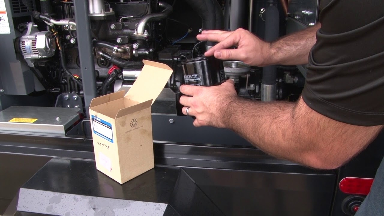 How to Replace Hydraulic Oil on a Compressor