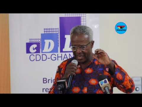 Kofi Blankson's full speech at CDD's 'Assessment of Akufo-Addo's One Year in Office' event