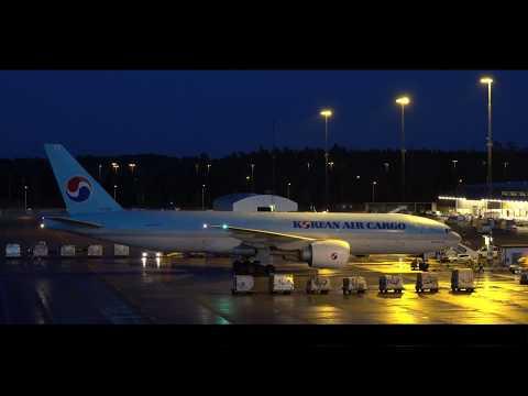 Arlanda Nights episode 2 -  Korean Air Cargo B777f