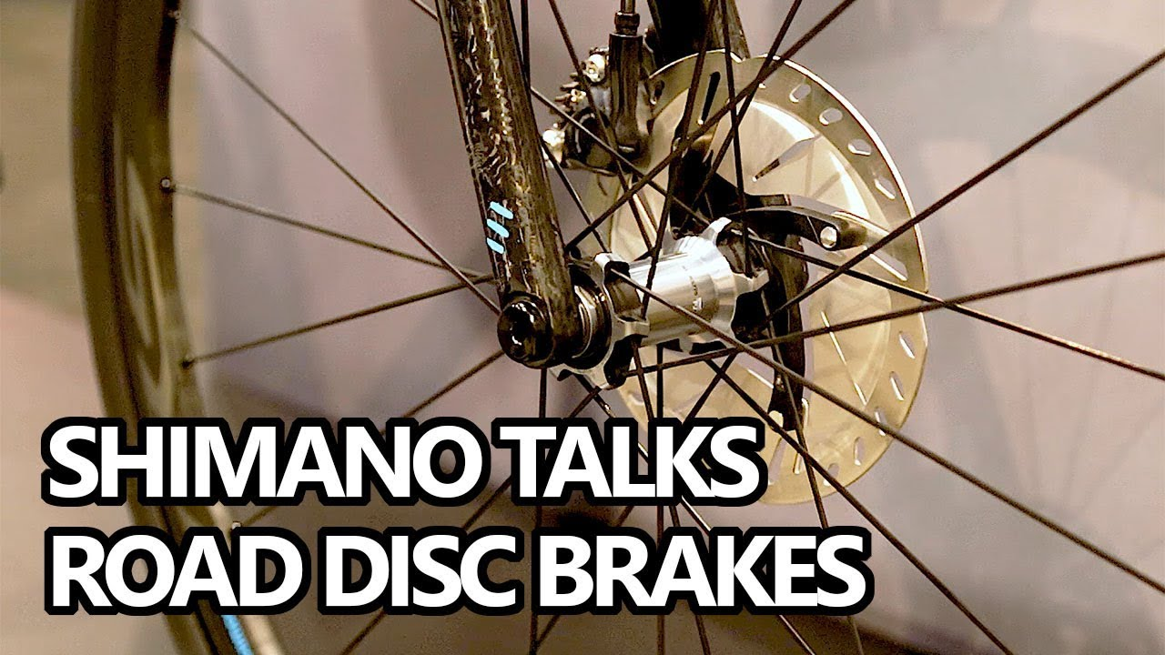644b865106 Road Bike Disc Brakes Overview with Shimano (Interbike 2018) - YouTube