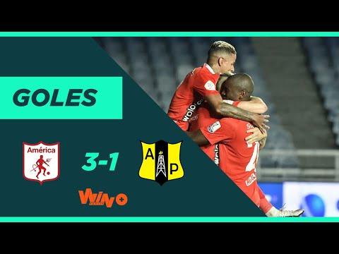 América de Cali vs. Alianza Petrolera (3-1) Liga BetPlay Dimayor 2020-1   Fecha 1