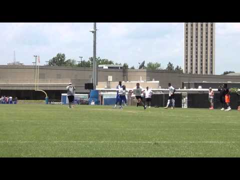 Austin Williams 2017 WR (Football Camps 2015)