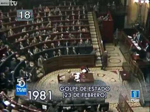 Se cumplen 37 años del golpe de Estado del 23-F