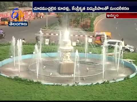 Beautification of Khammam Gets Pat from All Fraternites |  A Story
