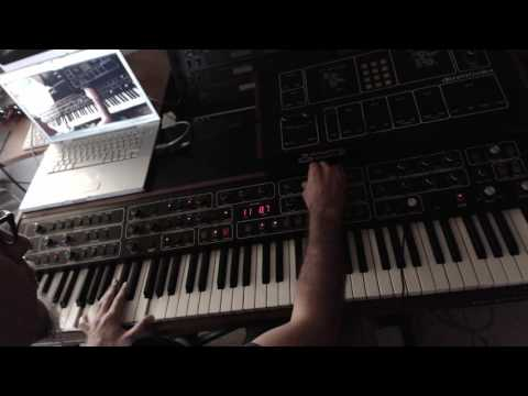 Sequential Prophet T8 - just kobbing (mono audio...mind you speakers and you ears!!!)