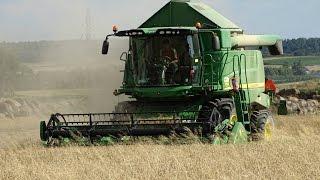 Żniwa 2016 - John Deere W540 WANICKI AGRO Usługi