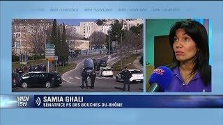 Samia Ghali sur la Castellane: