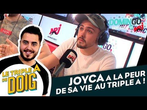JOYCA a la peur de sa vie au Triple A ! DominGo Radio Stream sur NRJ
