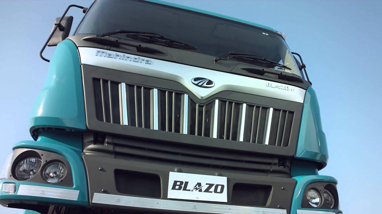 Mahindra Truck Bus Blazo Tvc Starring Ajay Devgn Mileage Guarantee