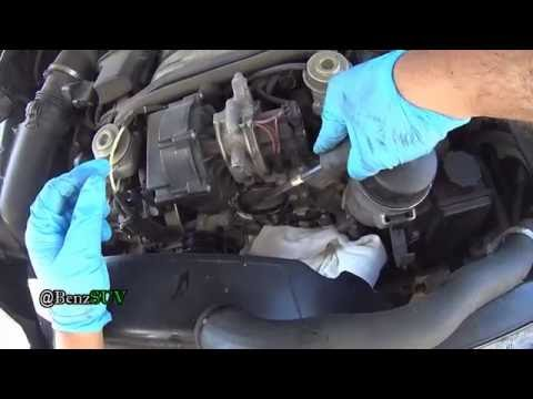 W163 ML320/ML350 (M112 engine)  Coolant Flush, Water pump and Thermostat change
