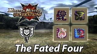 [MHGen] 6★ Village | The Fated Four (Striker Charge Blade | Lowrank equipment) - 11'03